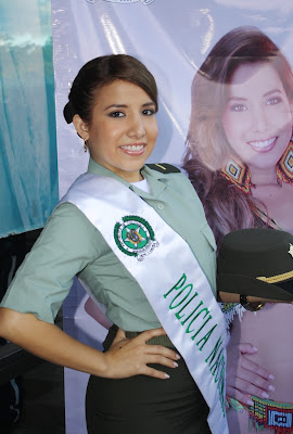 Maria Alejandra Cabrera Losada, representante de la Policia Nacional