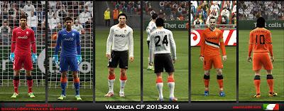 Valencia CF Kitset 2013-2014 by Diavolo86
