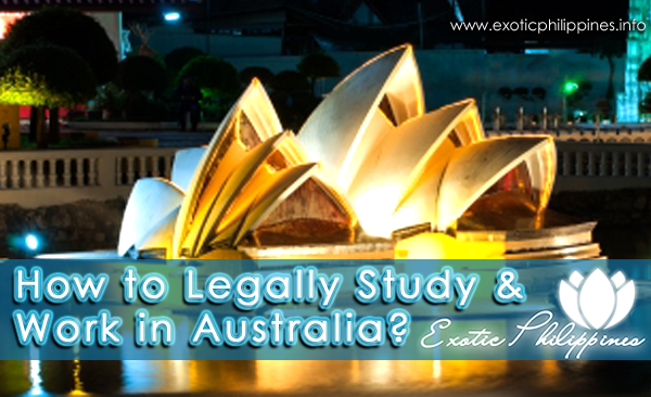 How to Legally Study and Work in Australia