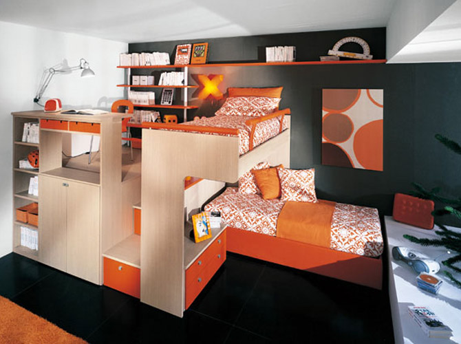 Teen Loft Bed With Desk