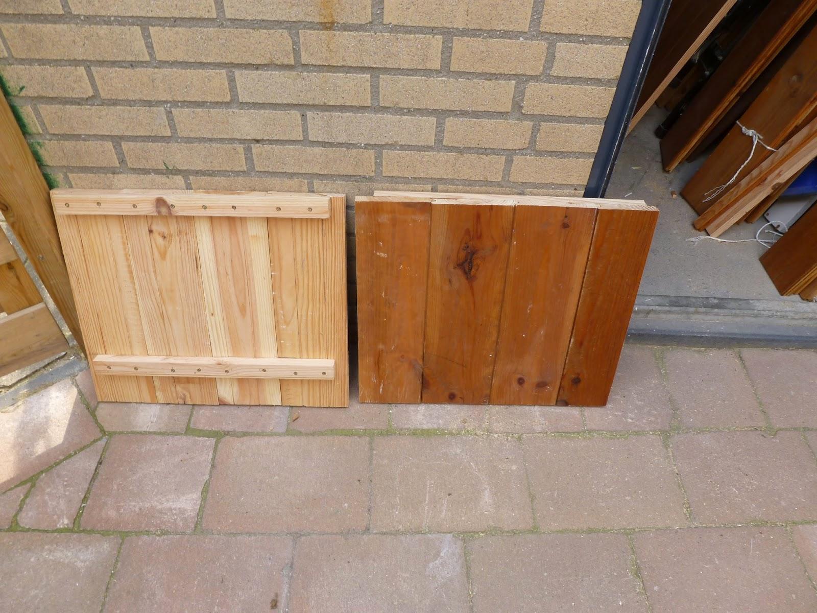 Creatief Hergebruiken recycle als hobby  Van oude planken naar een nieuwe sloophouten salontafel