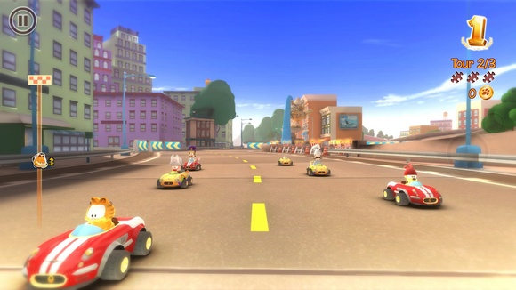 Garfield Kart PC Game Screenshot 1 Garfield Kart SKIDROW