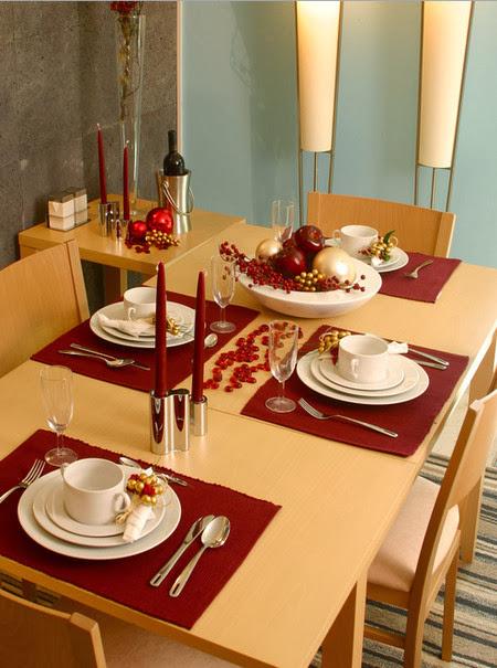 Maracucha navidad c mo decorar la mesa de navidad - Como decorar la mesa de navidad ...