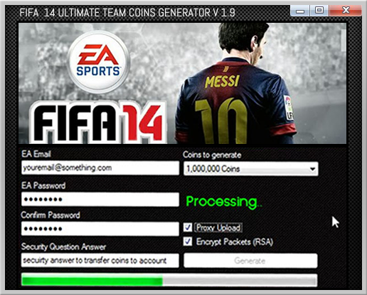 Fifa 14 Ultimate Team Coin Generator UPDATED - Xbox PC - video dailymotion