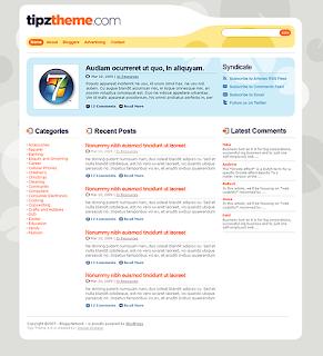 Tipztheme – Free WordPress Theme for Personal Website