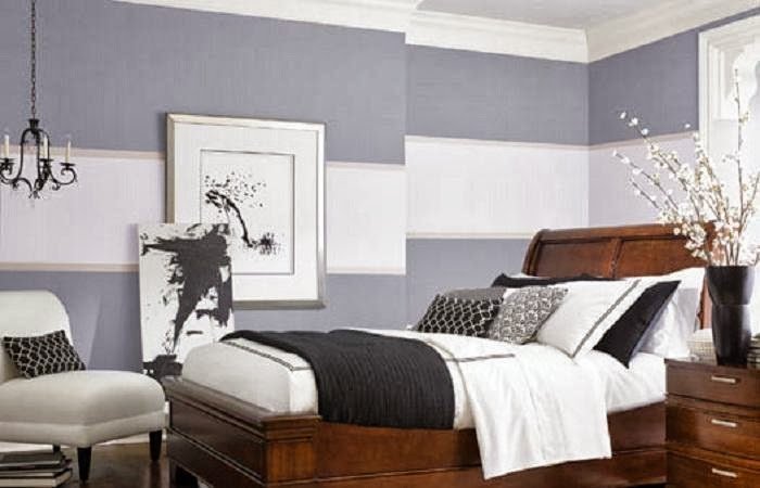 and photos from bedrooms painted in a variety of painting styles