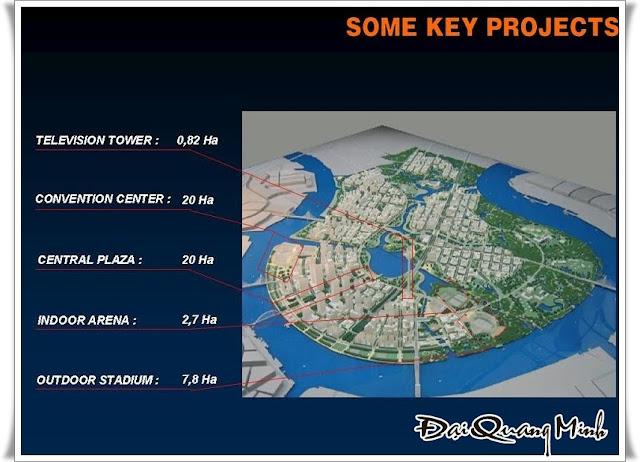 sơ đồ khu đô thị mới Thủ Thiêm Quận 2