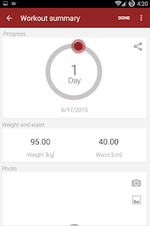 abs workout Android App