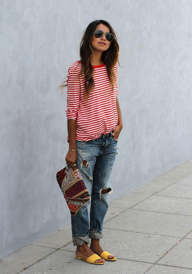 bbcb2cf49 http   www.whowhttp   www.gofeminin.de styling-tipps boyfriend-jeans -kombinieren-s1483075.htmlhatwear.com best-boyfriend-jeans -summer-fashion-2014 slide16