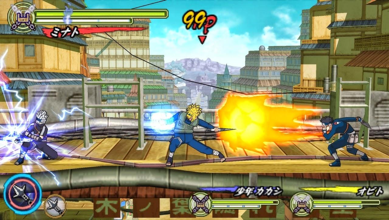2X Gamer: ->Naruto Shippuden : Ultimate Ninja Heroes 3 Size Game 274 Mb
