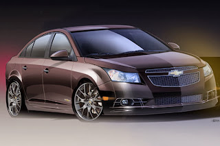 Modified Chevrolet Cruze Upscale