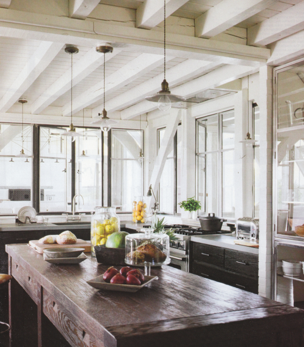 Just a touch of gray rustic decor for Elle decor kitchen ideas