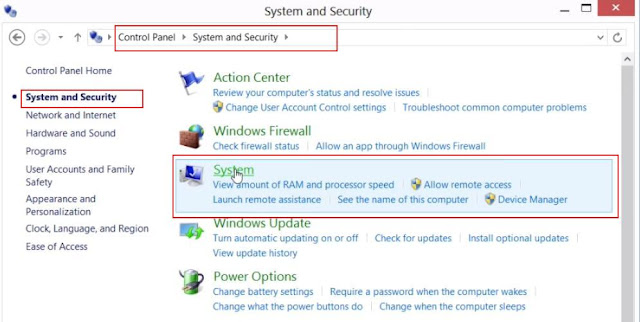 How to set Classpath in Windows 8