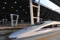 China inauguró la línea de trenes de alta velocidad más larga del mundo