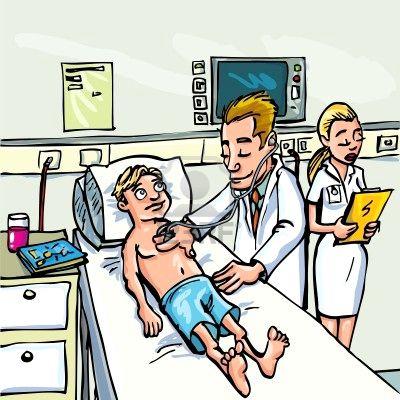 la pata un medico tiene que examinar en profundidad a su paciente