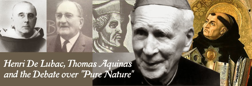"Henri De Lubac and the Thomistic Debate over ""Pure Nature"""