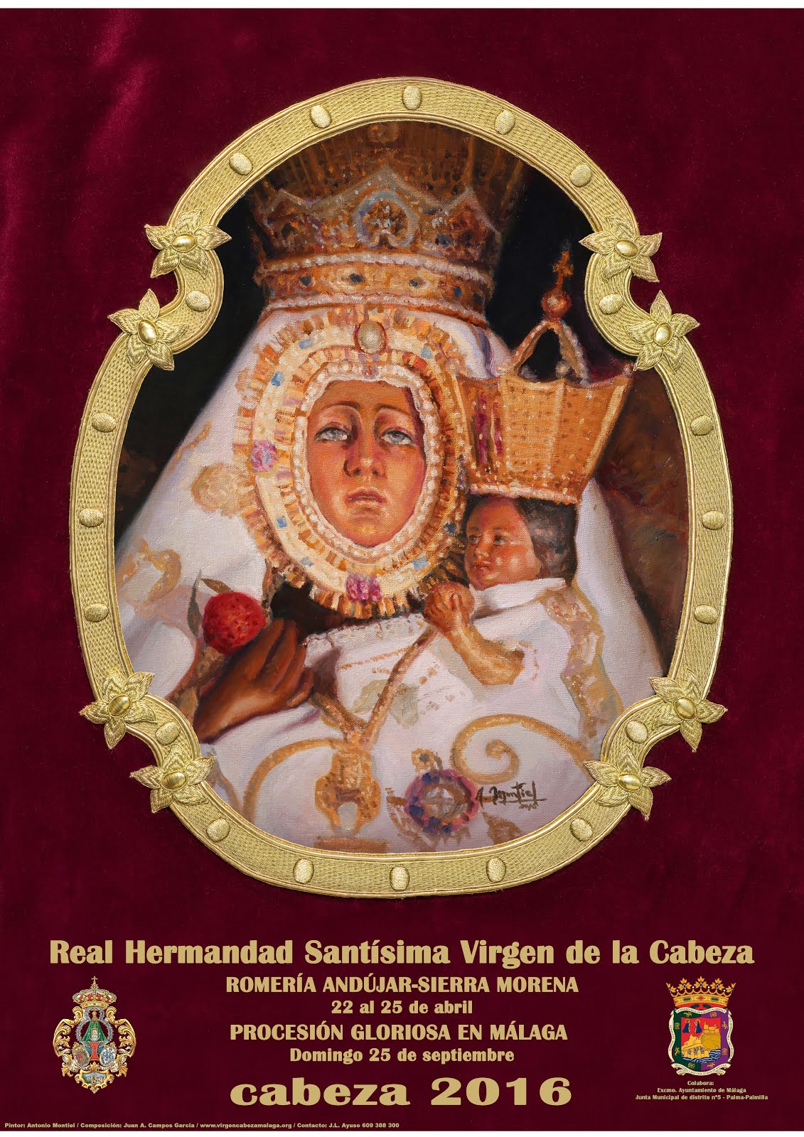 Detalle Cultos y Actos PROCESIÓN 2016
