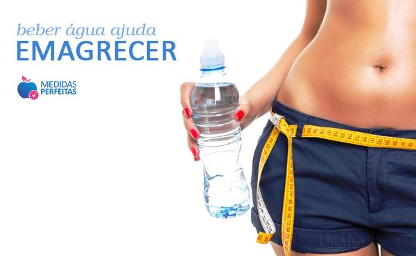 Beber água emagrece sim!