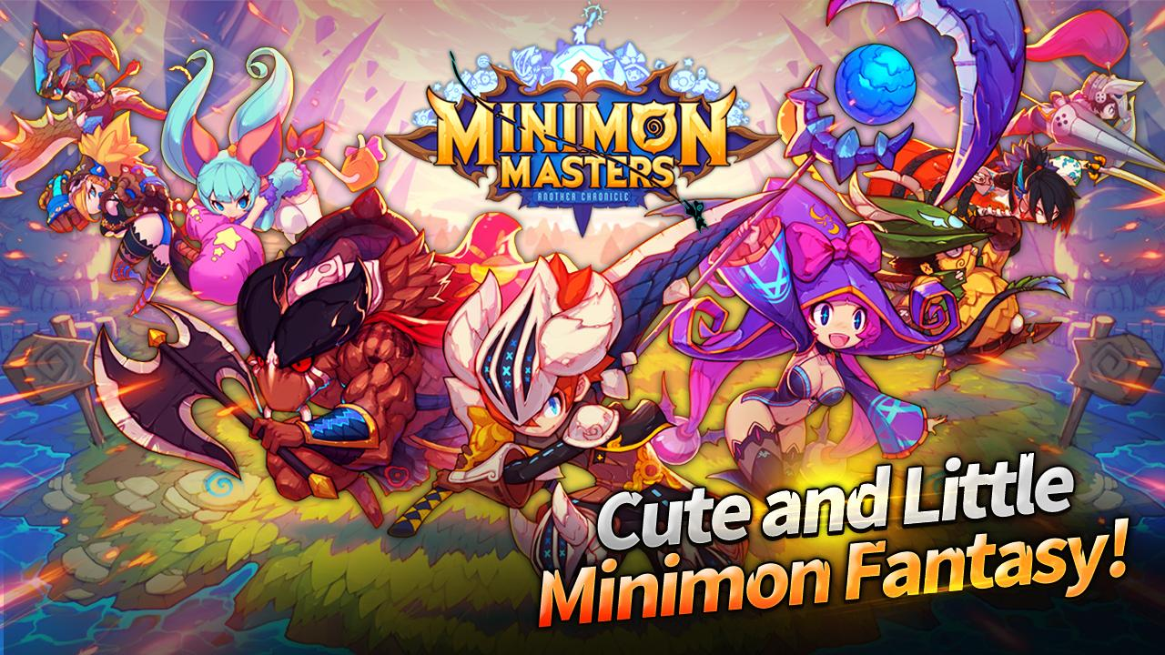 Minimon Masters Gameplay IOS / Android
