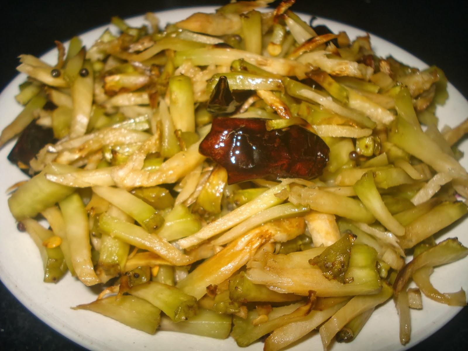 Jay 39 S Veg Kitchen Bread Fruit Stir Fry Jeev Kadgi Upkari