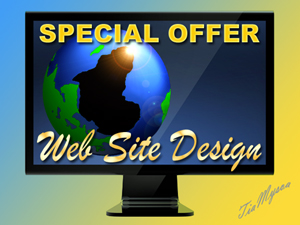 Web Site Design Special Offer