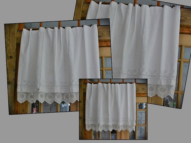 Nikantik spitzenvorhang mit spitze - Regal mit vorhang ...