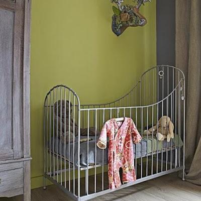 Habitación para Bebe fresca para Primavera