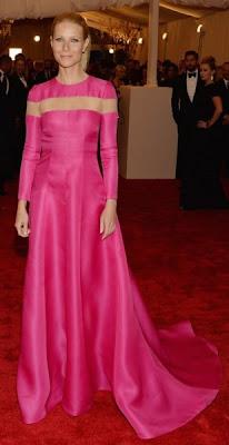 Gwyneth Paltrow com vestido alta costura