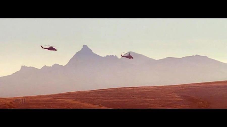 Силуэт Кара-Дага в 9-ой роте | The Silhouette of Kara-Dag in 9th Company film