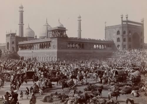 Old Pictures Of Delhi Before Independence Rare Pictures Of