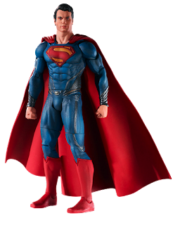 "Henry Cavill as Superman Man of Steel Movie Masters by Mattel Russell Crowe will be sporting some heavy-duty armor in Zack Snyder's highly anticipated ""Man of Steel"" — that is, if a new Jor-El action figure is any indication.  The Mattel figure features Superman's Kryptonian father, but he's not wearing the ethereal white robes of Marlon Brando's 1978 portrayal. The toy adopts Crowe's likeness and appears to be clad in the same alien-meets-steam-punk style shoulder armor we've seen in photos from the set. The figure also wears metal boots, leg armor and gauntlets over a blue undersuit."