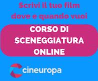 CORSO DI SCENEGGIATURA ON LINE CINEUROPA