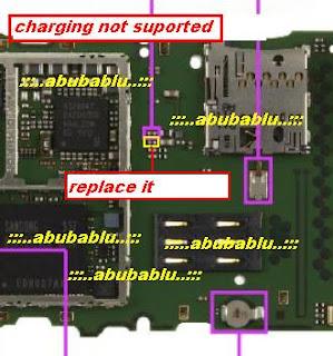 nokia 6303i charging problem