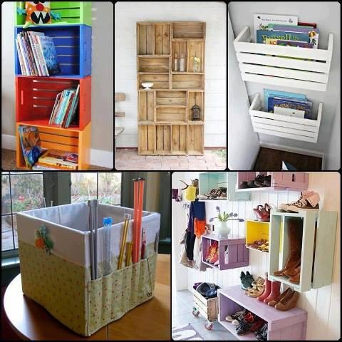 hogar y jardin ideas sencillas para reciclar distintos materiales. Black Bedroom Furniture Sets. Home Design Ideas