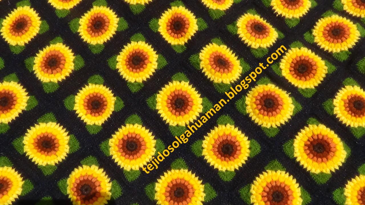 Colchas Para Camas Tejidos A Crochet De Flores Tejidos