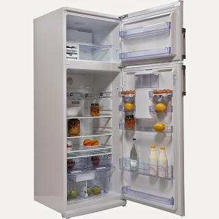 Frigider Beko DDEN507WD+, 440 L, Clasa A+, Display, Antibacteria, Dozator, Alb