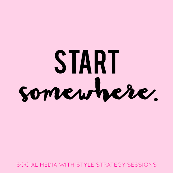 Social Media Strategy Sessions