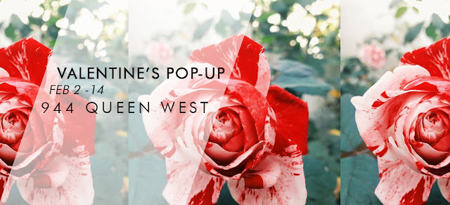 Fitzroy Boutique 2106 Valentines Pop Up at 944 Queen West, Toromto