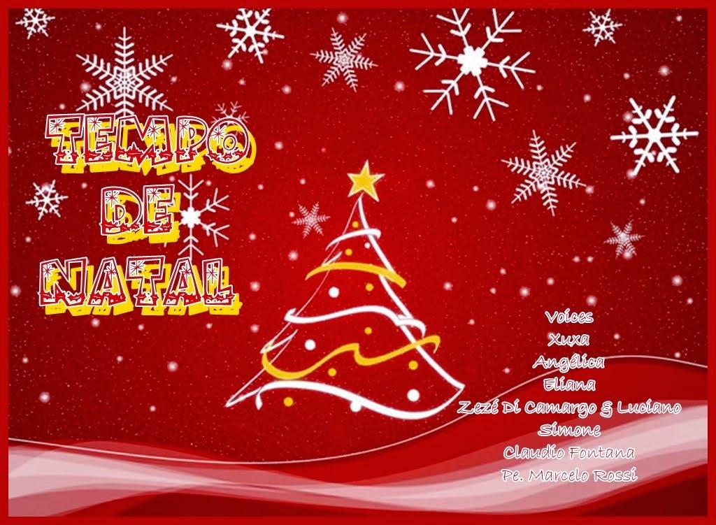 CD É TEMPO DE NATAL- XUXA,ANGÉLICA, MARA MARAVILHA, ELIANA. SIMONE  E MUITO MAIS!!