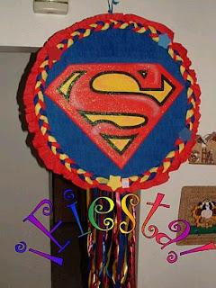 Piñatas Superman para Fiestas Infantiles