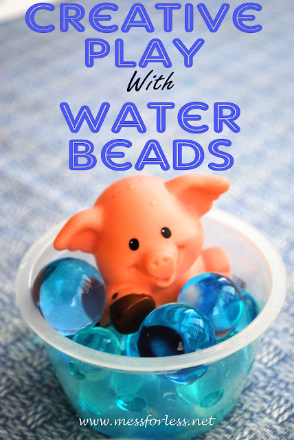 Creative Play with Water Beads