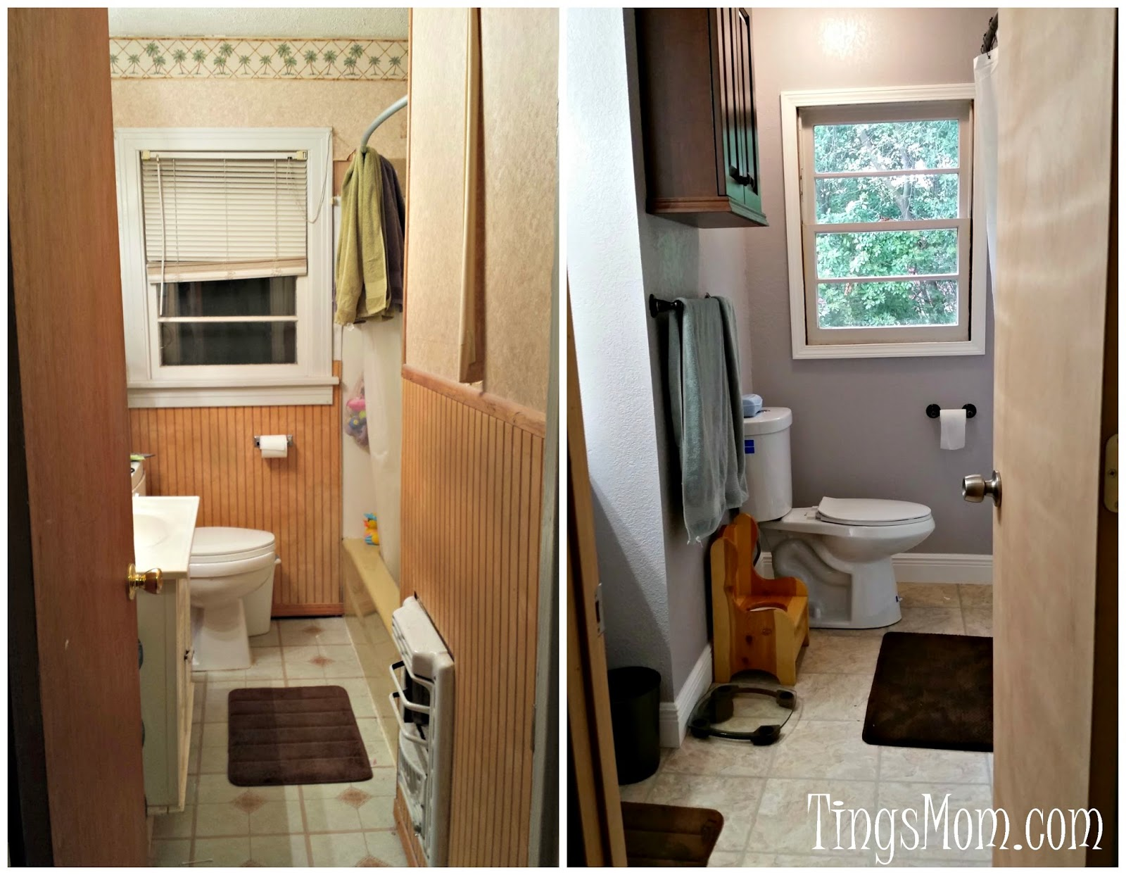 Bathroom Makeover | #bathroom #homeimprovement