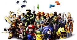 Os famosos dos games