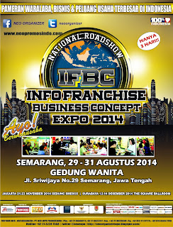 National Roadshow INFO FRANCHISE & BUSINESS CONCEPT EXPO 2014