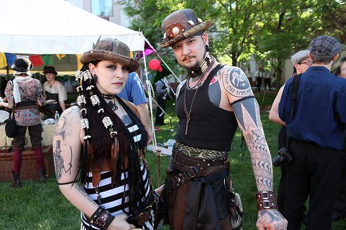 steampunk clothing fashion