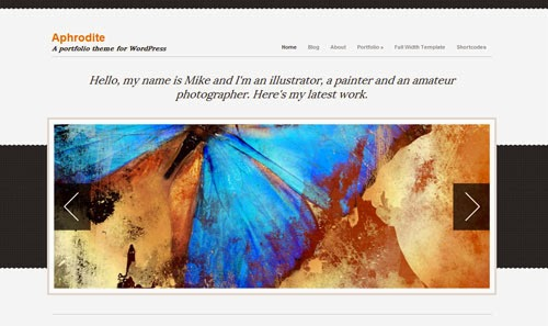 Aphrodite Cssigniter Wordpress Theme Version 1.3 free