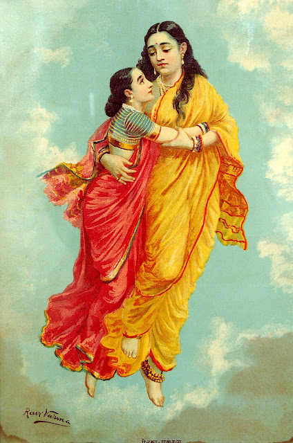 Raja RAVI VARMA's Paintings: Agaligai