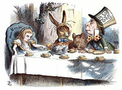 John Tenniel's A Mad Tea Party from Alice's Adventures in Wonderland