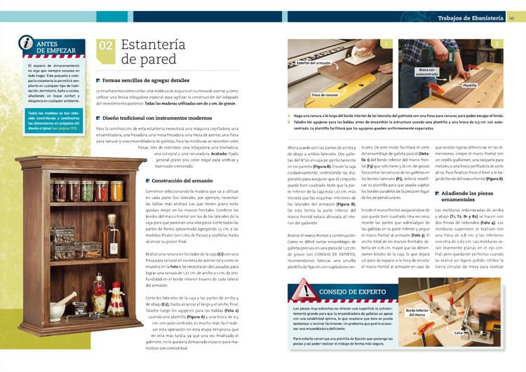 Libros manual de carpinter a y ebanister a gu a pr ctica - Materiales de carpinteria ...