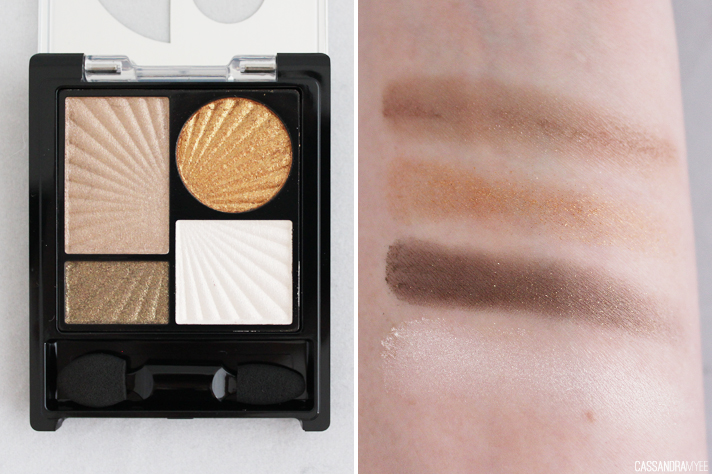 ZA COSMETICS // Impact-Full Eyes Groovy Palettes in Shell Necklace + Favorite Dress - CassandraMyee